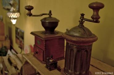 Alte Kaffeemühlen