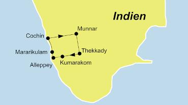 Indien - Malaburküste - Kerala