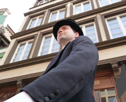 Jacob Lange in der Deichstraße